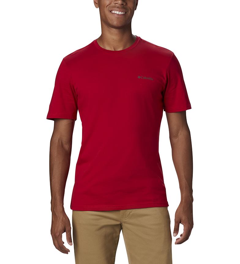Comprar Columbia Rapid Ridge Back Graphic T-shirt red