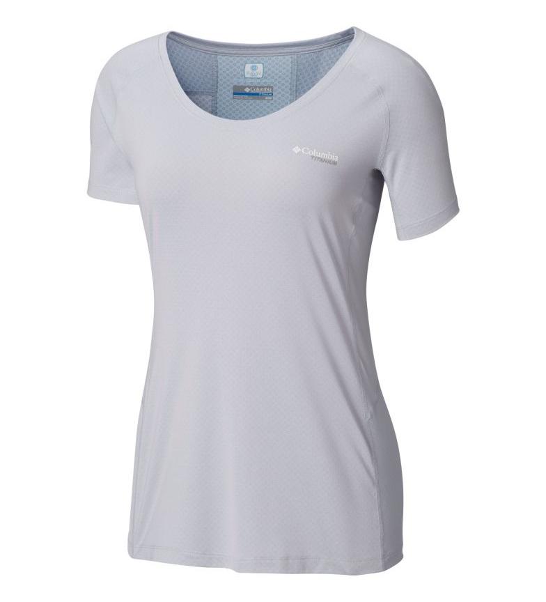 Comprar Columbia T-shirt grigia Titan Trail