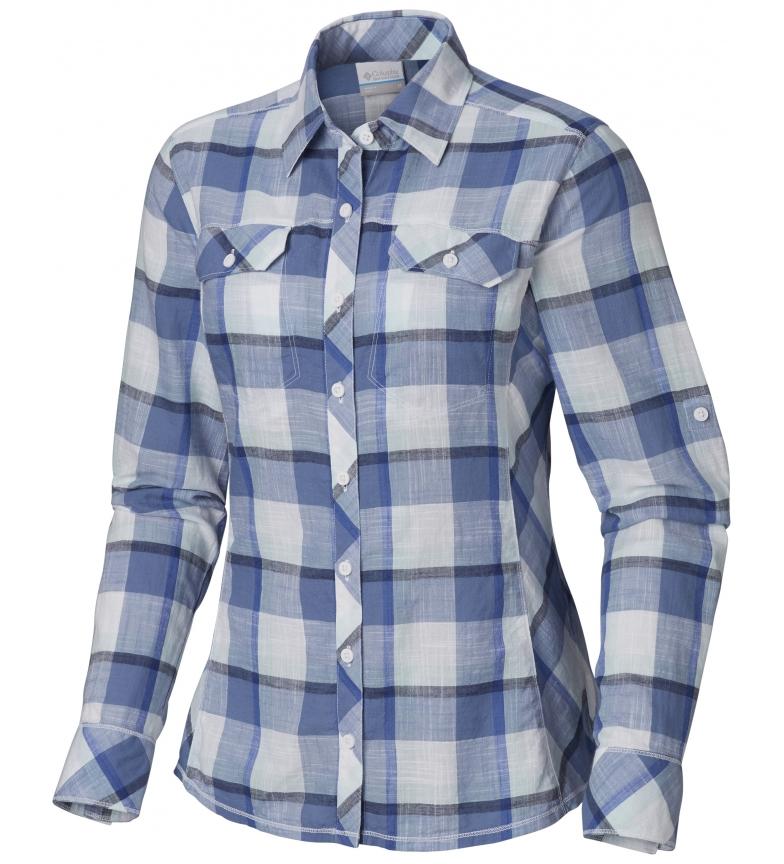 Comprar Columbia Camicia blu Camp Henry