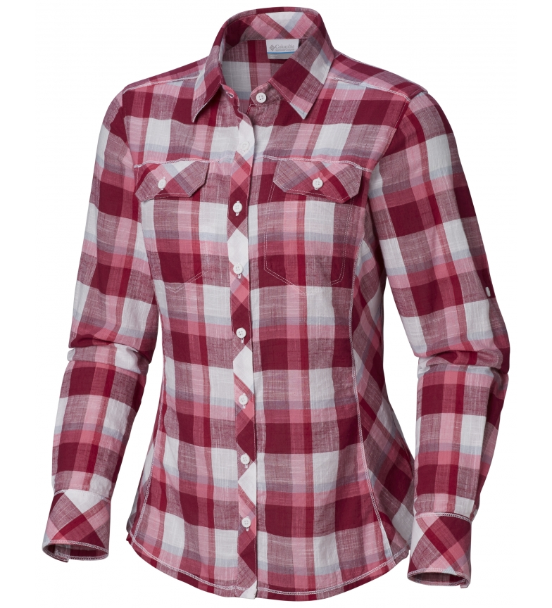 Comprar Columbia Chemise Camp Henry grenat