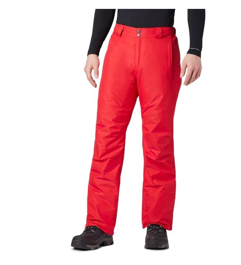 Comprar Columbia Pantalón de Esquí Bugaboo II rojo
