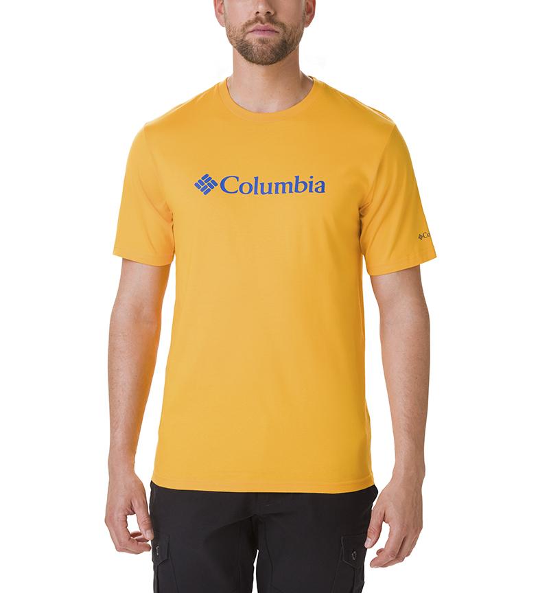 Comprar Columbia Camiseta CSC Basic Logo amarillo