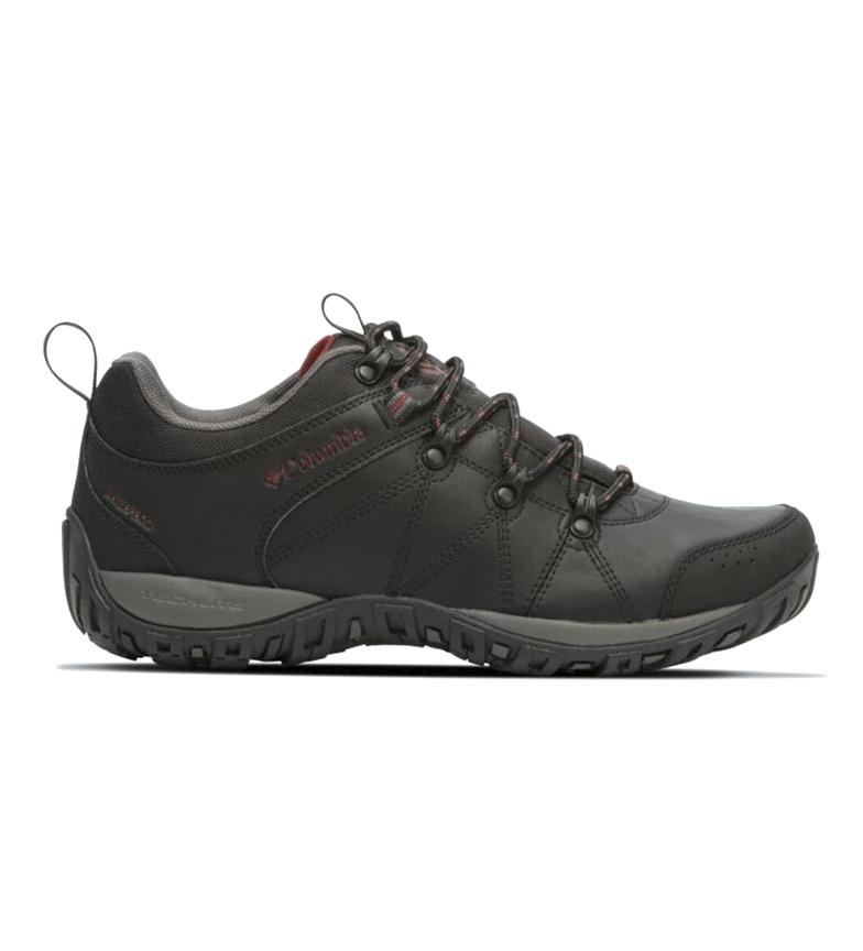 Columbia Peakfreak Venture Waterproof Leather Shoes Black
