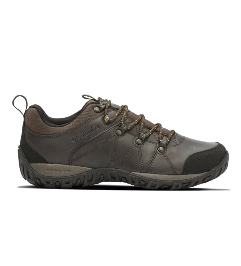 Comprar Columbia Zapatillas de piel Peakfreak Venture Waterproof marrón
