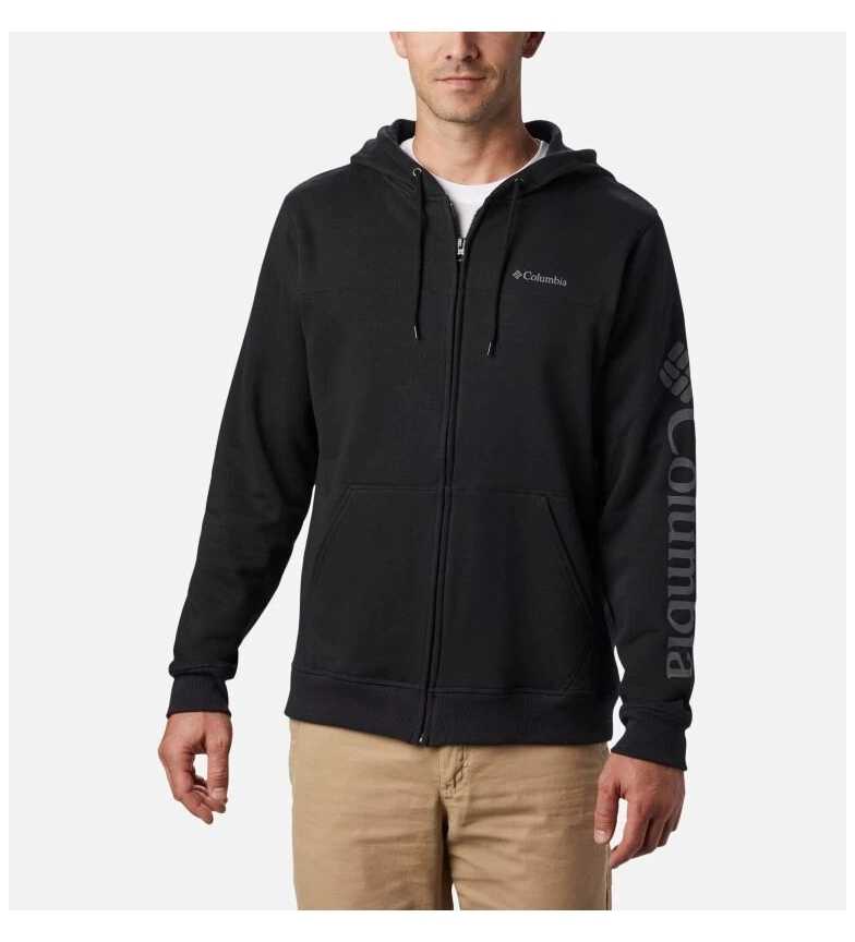 Comprar Columbia Columbia Logo Fleece FZ Sweatshirt M black