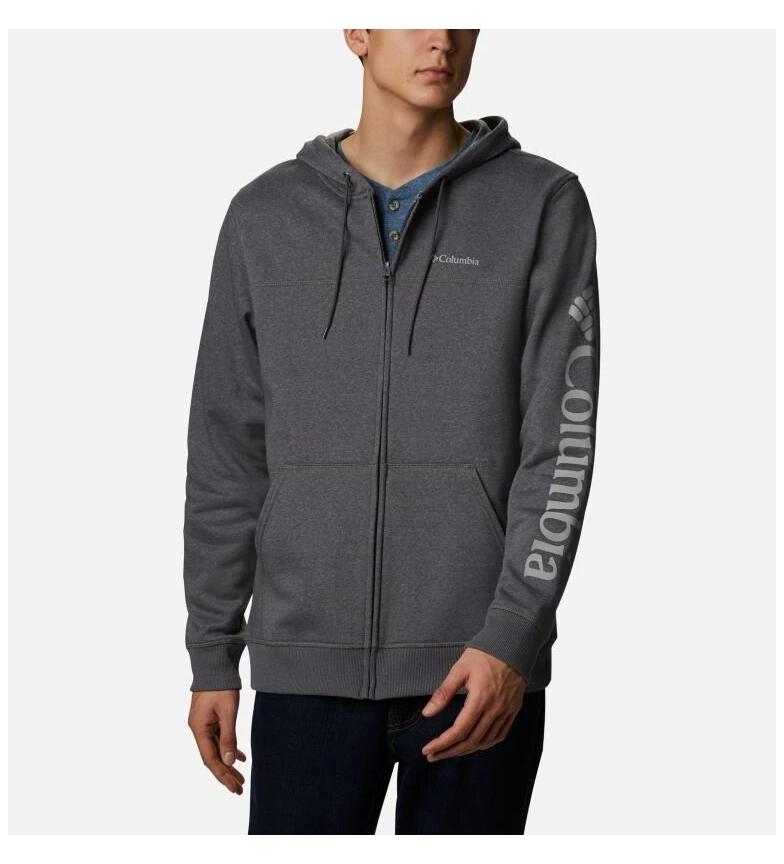 Comprar Columbia Sudadera M Columbia  Logo Fleece FZ gris