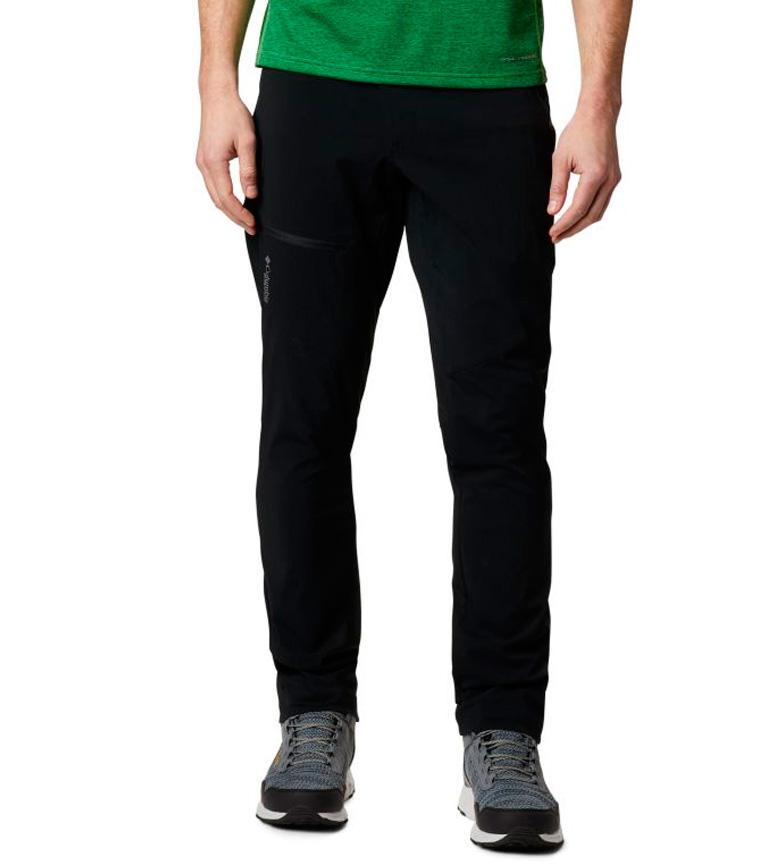 Columbia Pantaloni Titan Pass neri