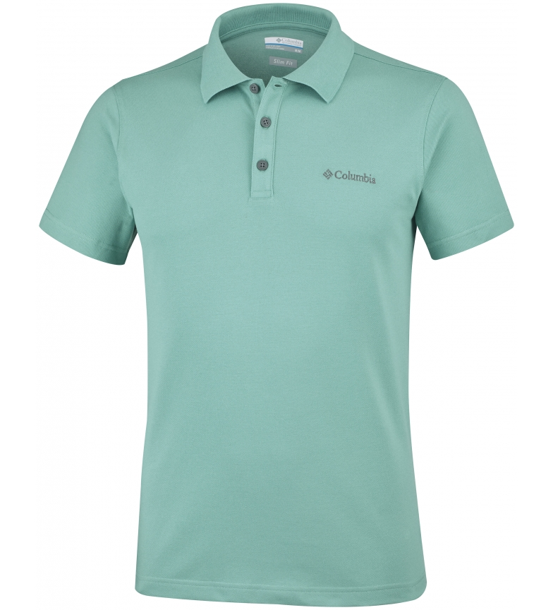 Comprar Columbia Elastic polo shirt Elm Creek green