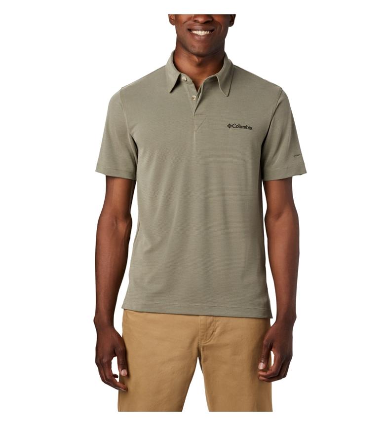 Comprar Columbia Sun Ridge short sleeve green polo shirt