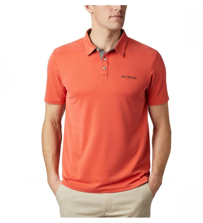 Comprar Columbia Orange Nelson Point Polo Shirt