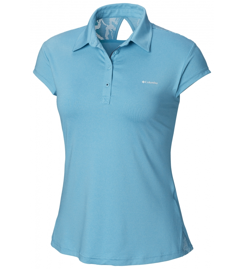 Comprar Columbia Polo Peak to Point celeste
