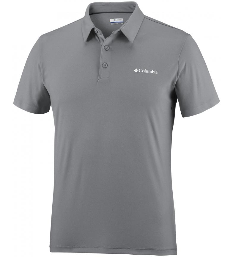 Comprar Columbia Triple Canyon grey technical polo shirt