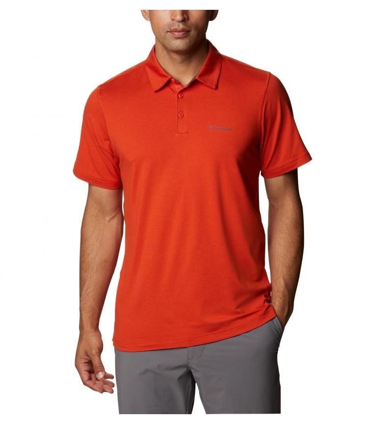 Comprar Columbia Tech Trail red polo shirt