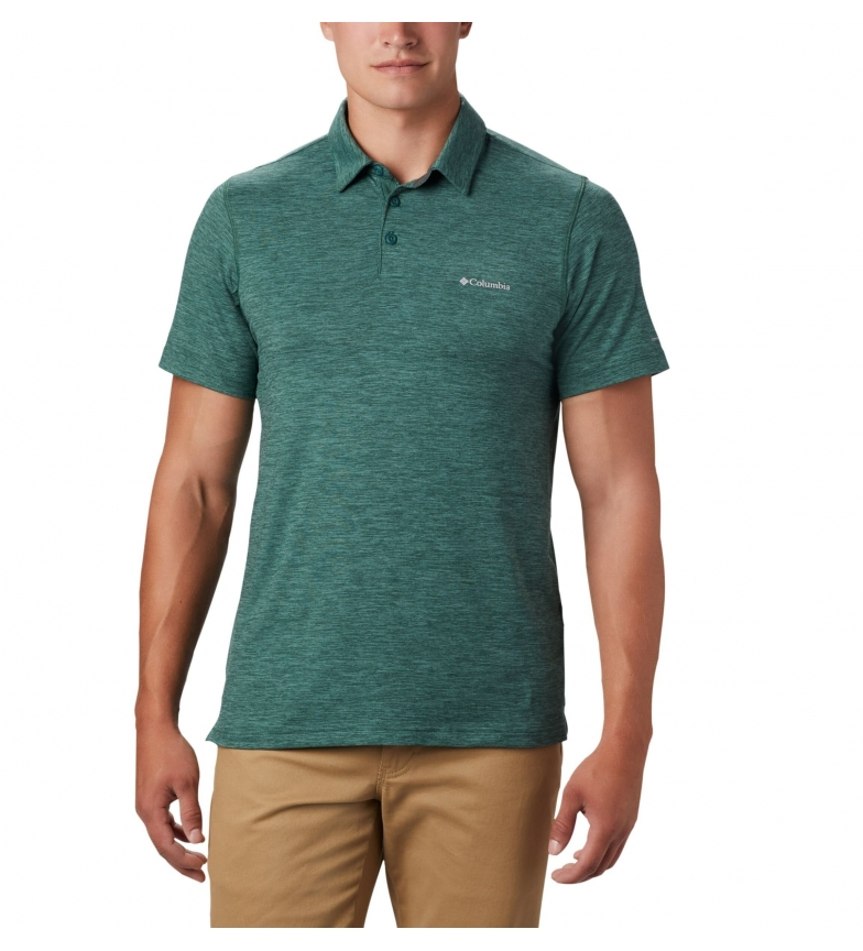 Comprar Columbia Polo Tech Trail verde