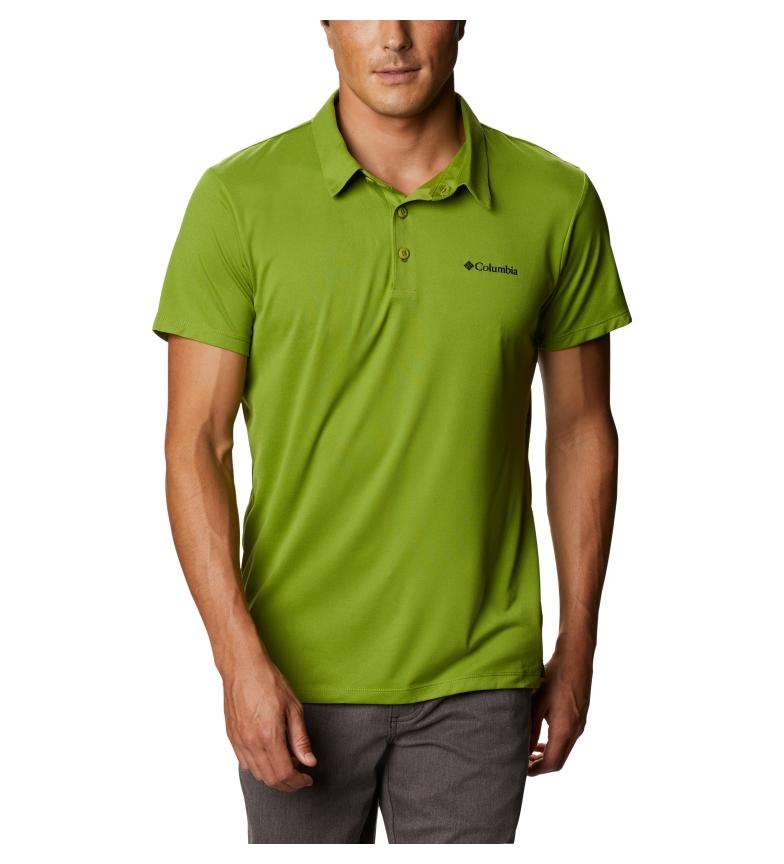 Comprar Columbia Triple Canyon Tech green polo shirt