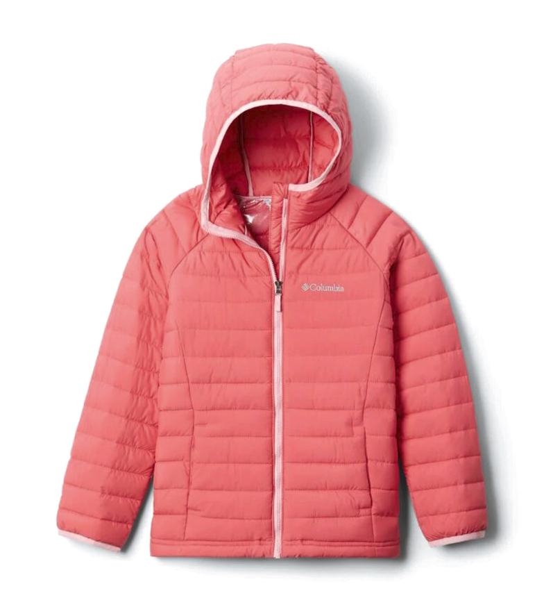 Comprar Columbia Powder Lite Girls Hooded Jacket pink