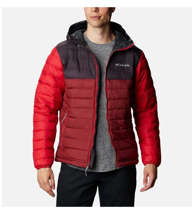 Comprar Columbia Veste rouge à capuche Powder Lite