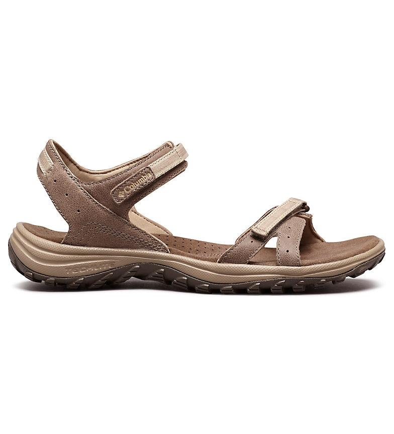 Comprar Columbia Santiam brown leather sandal