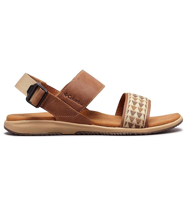 Comprar Columbia Sandale en cuir marron Solana