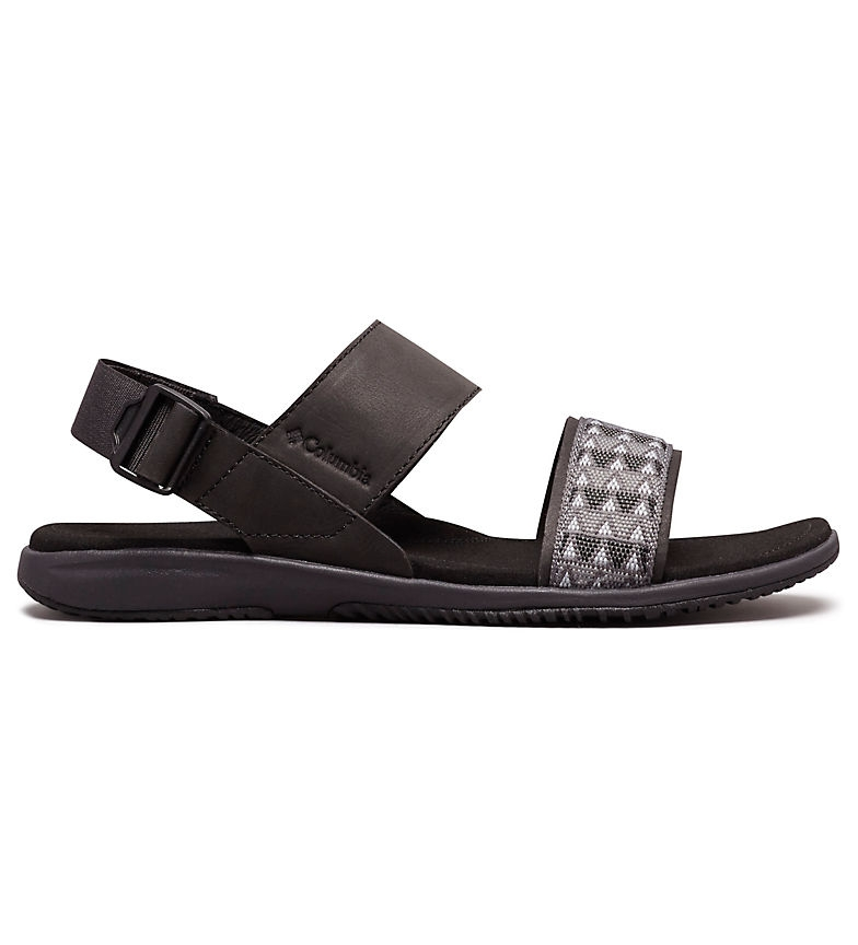 Comprar Columbia Solana black leather sandal