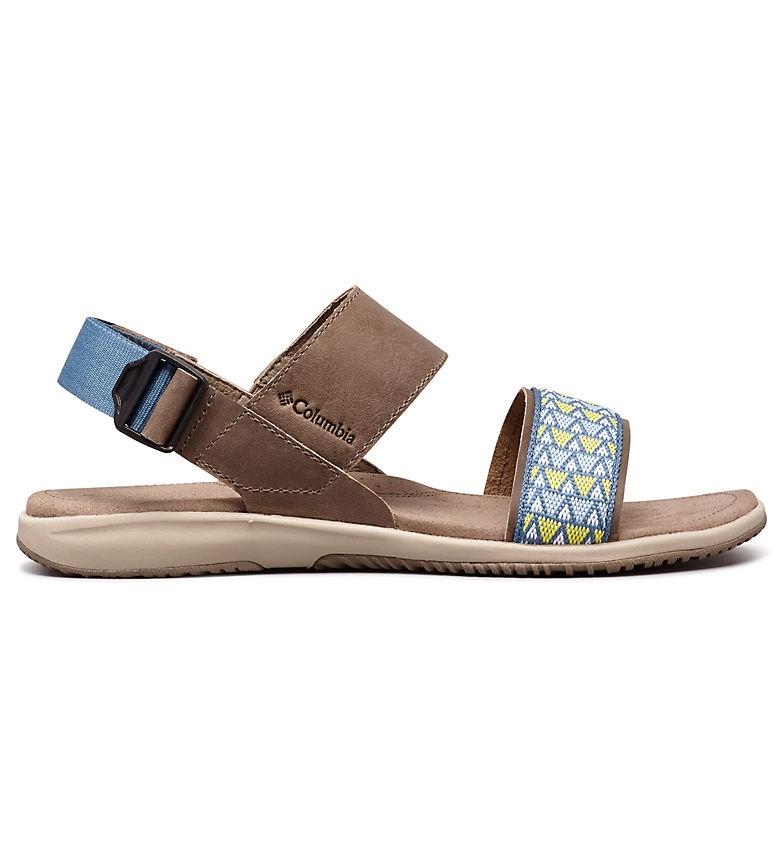 Comprar Columbia Solana taupe Leather Sandal