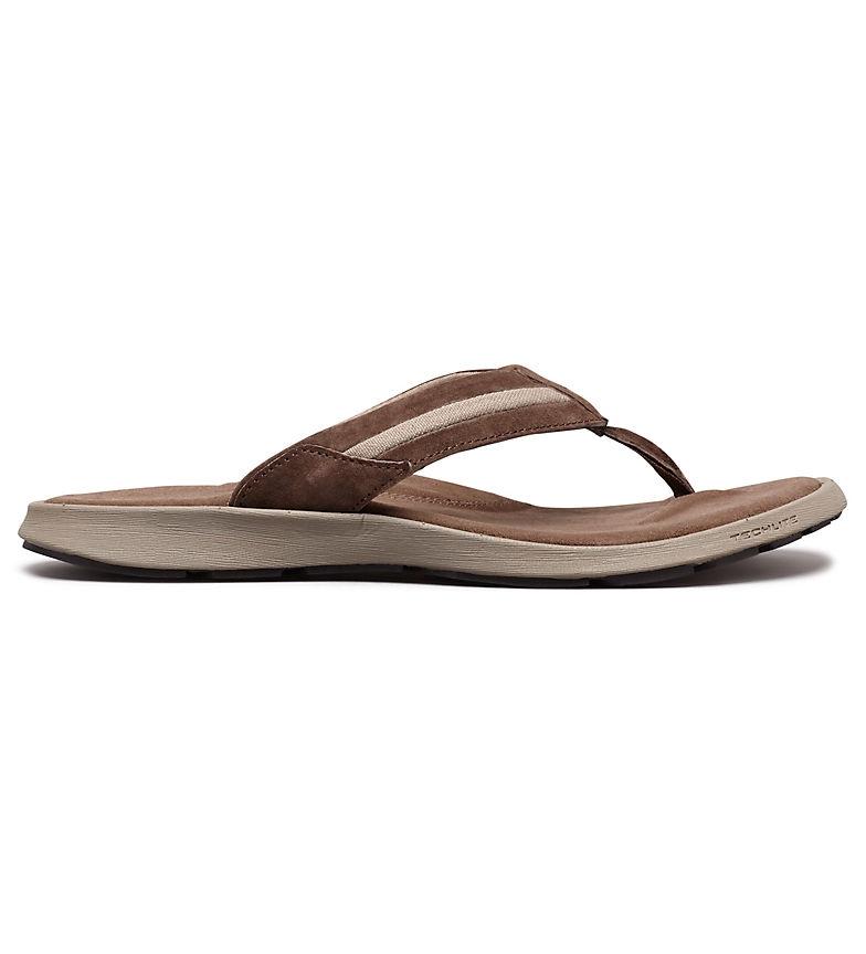Comprar Columbia Sandale en cuir marron Vérona
