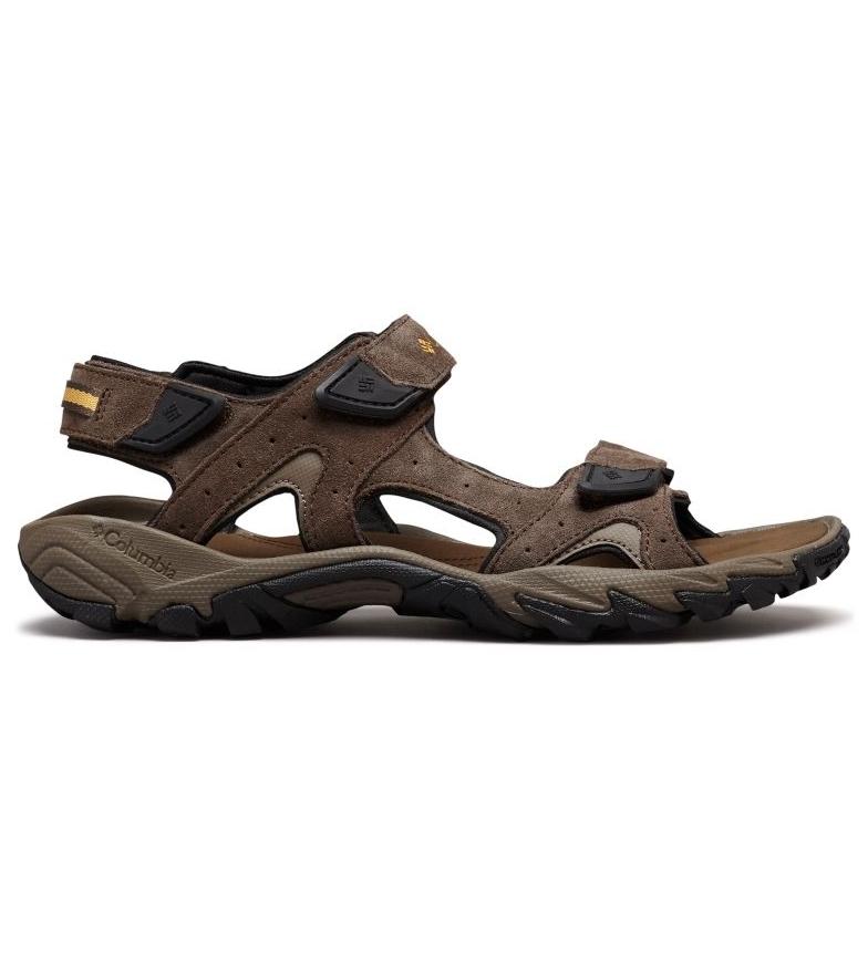 Comprar Columbia Sandalo in pelle marrone Santiam
