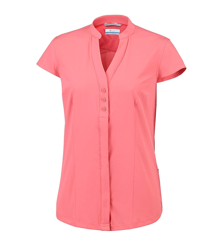 Comprar Columbia Camicia elastica Saturday Trail coral