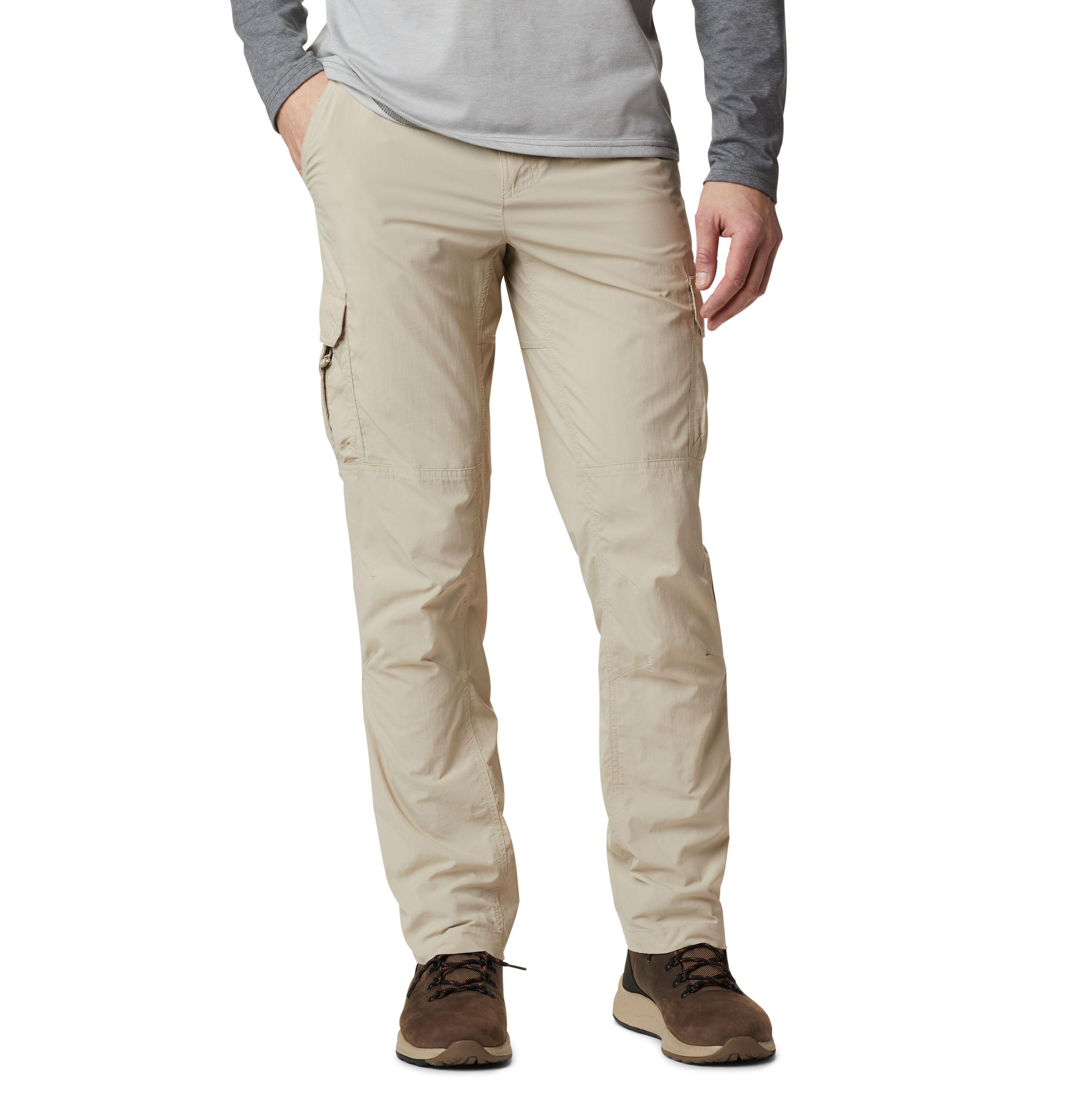 Columbia Pantalones Silver Ridge II Cargo beige / Omni-Wick / Omni-Shade /