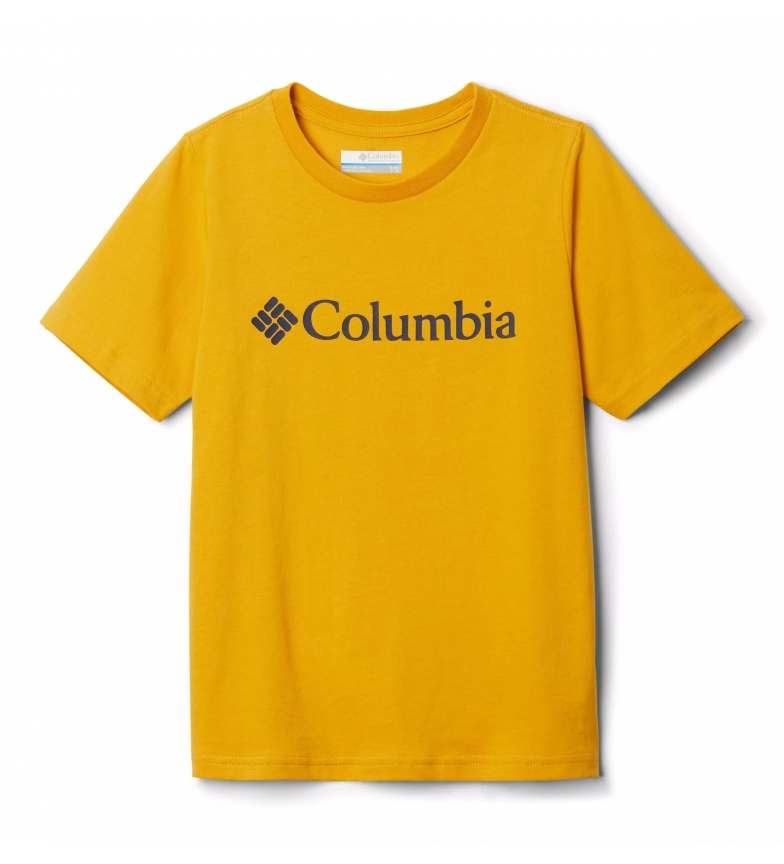Comprar Columbia CSC Basic Logo Youth T-shirt yellow