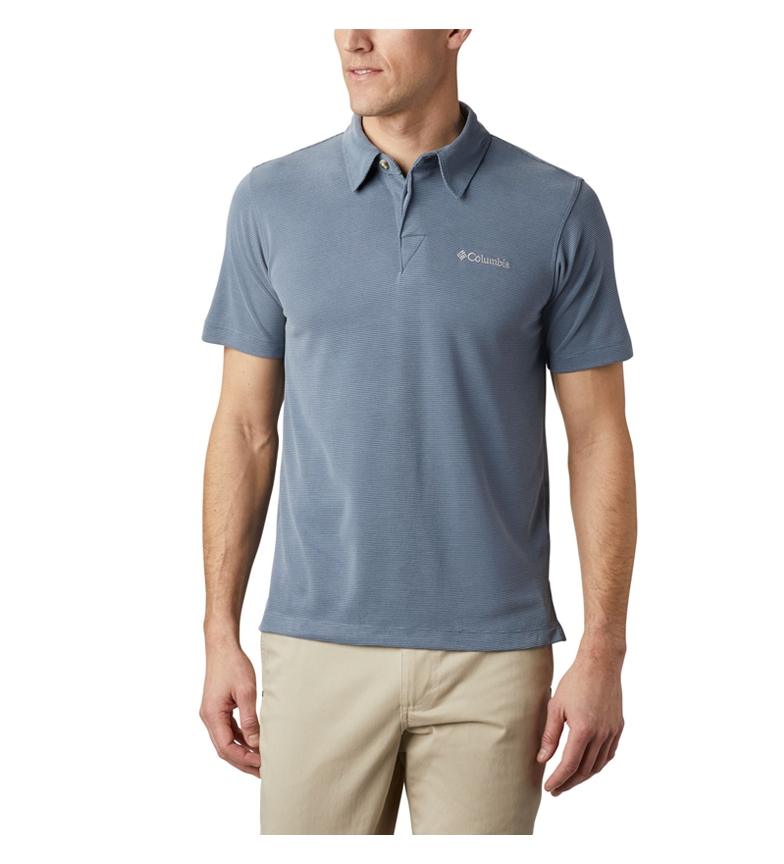 Comprar Columbia Sun Ridge short sleeve blue polo shirt