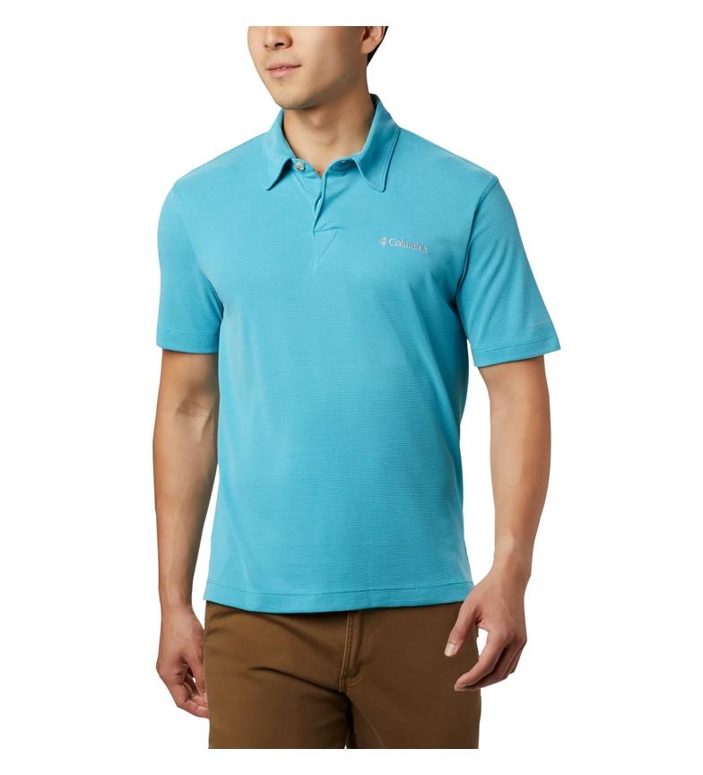 Comprar Columbia Sun Ridge short sleeve polo shirt turquoise