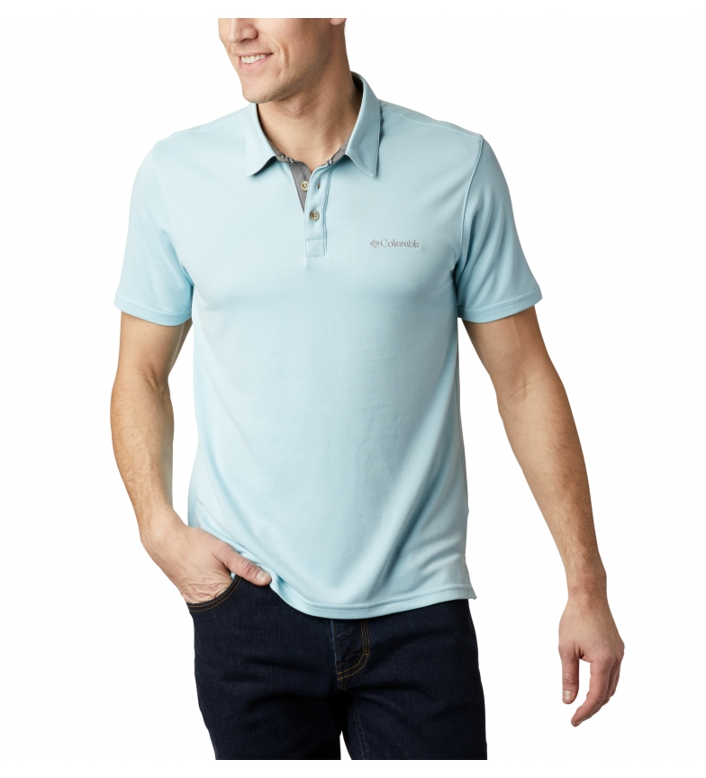 Comprar Columbia Nelson Point light blue polo shirt