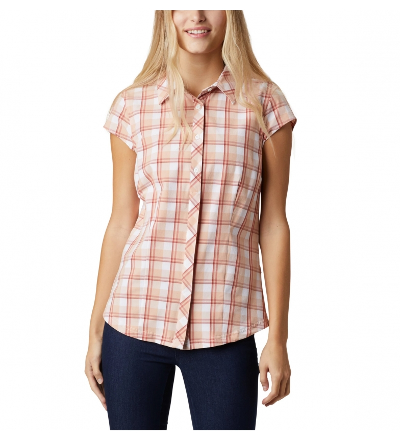 Comprar Columbia Saturday Trail II Stretch Print Camisa laranja SS