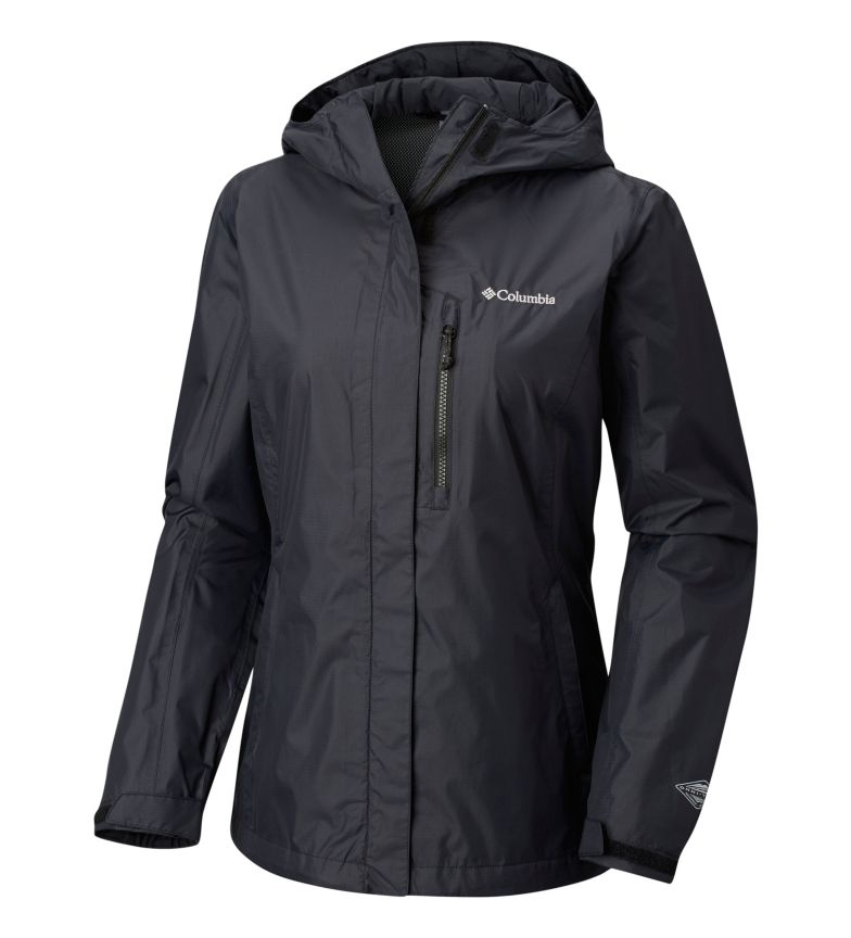 Comprar Columbia Raincoat Womens Pouring Adventure black