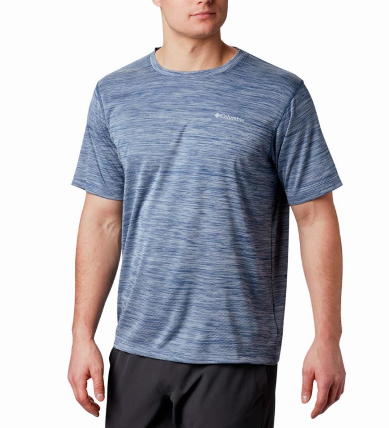 Comprar Columbia Camiseta Zero Rules azul jaspeado
