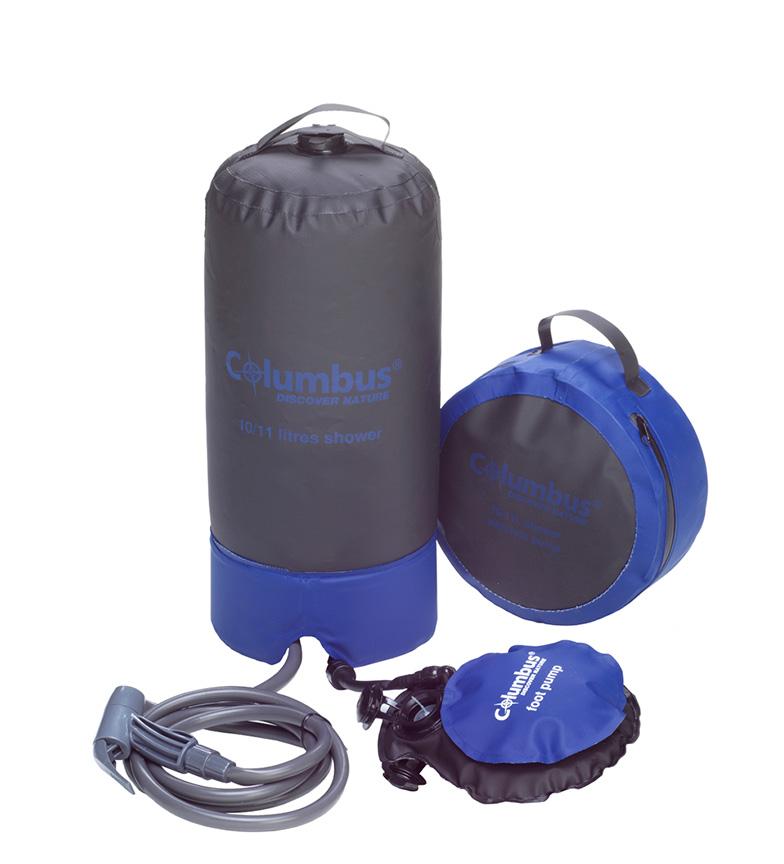 Comprar COLUMBUS Ducha de camping azul / 10L / 720 g