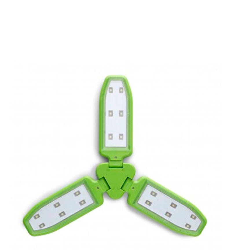Comprar COLUMBUS Lámpara solar Elara verde / 100 lumens / 168 g