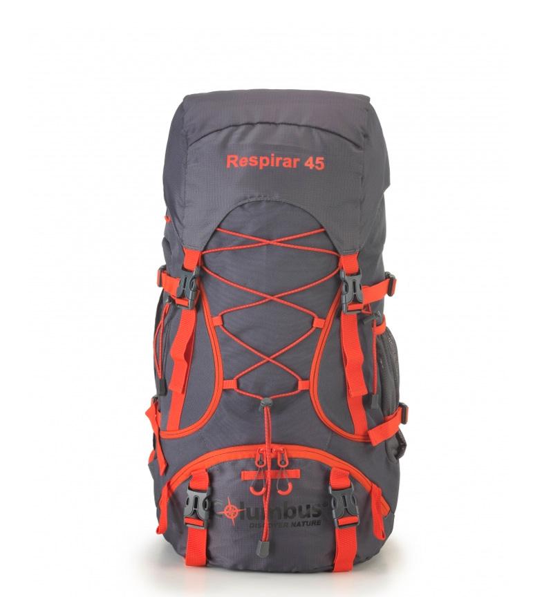 Comprar COLUMBUS Zaino traspirante 45 grigio, rosso / 45L / 45L / 1.2Kg / 64x33/28,5x26 cm