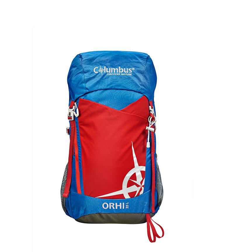 Comprar COLUMBUS Zaino Orhi 35 blu, rosso / 35L / 35L / 1.250 Kg / 55x25x20 cm