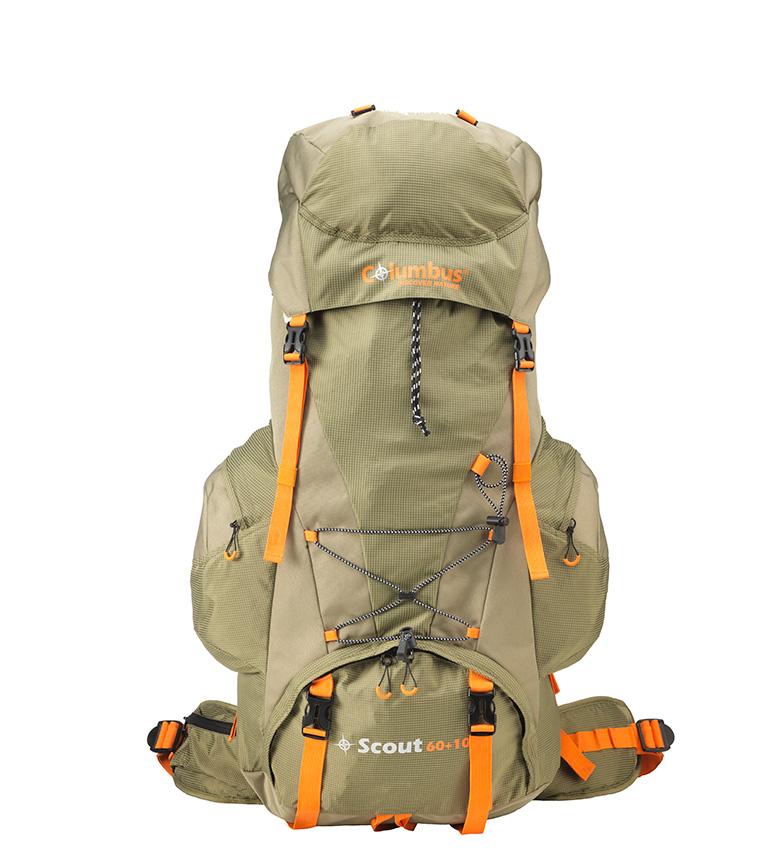 Comprar COLUMBUS Scout backpack 60+10 green / 70L / 1,450 Kg / 61x33x21,5 cm