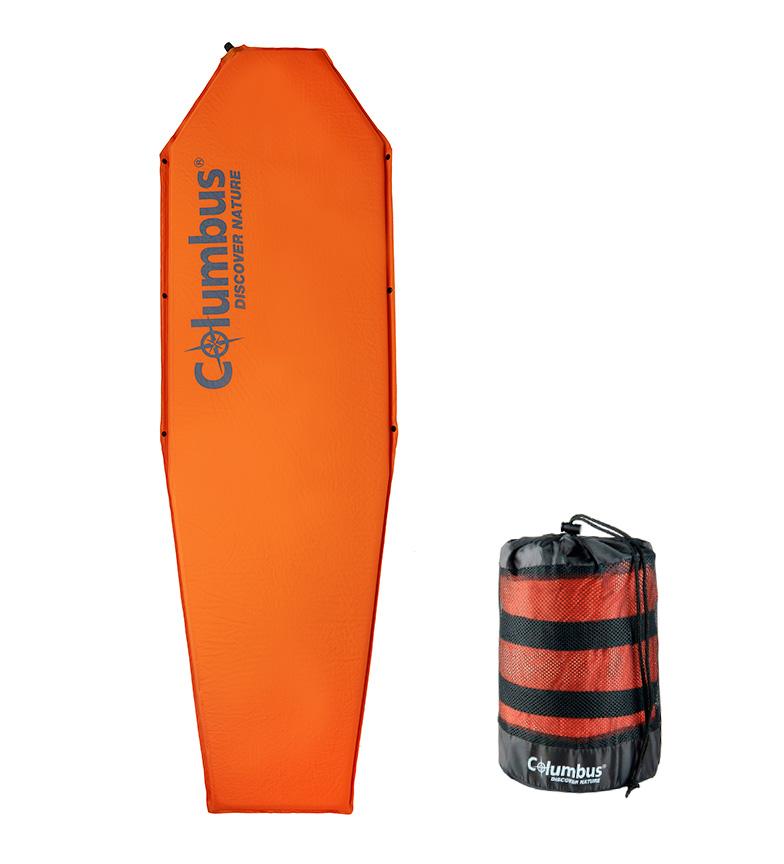 Comprar COLUMBUS Aislante autoinflable SM6 naranja / 183x51x3 cm / 1,050 Kg