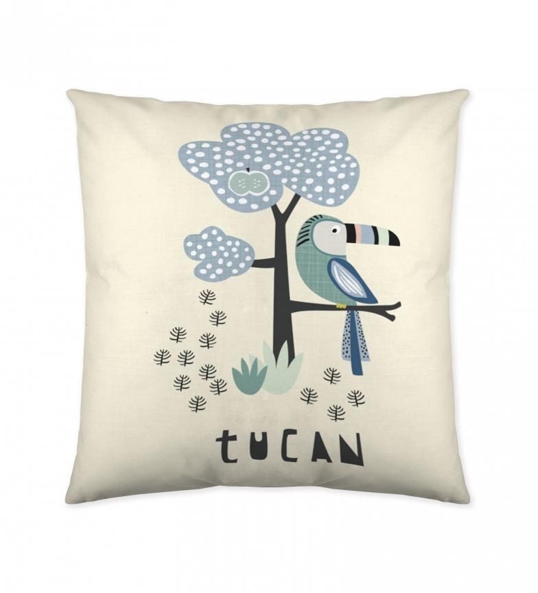 Comprar COOL KIDS Cushion Cover Tukan beige -50x50cm