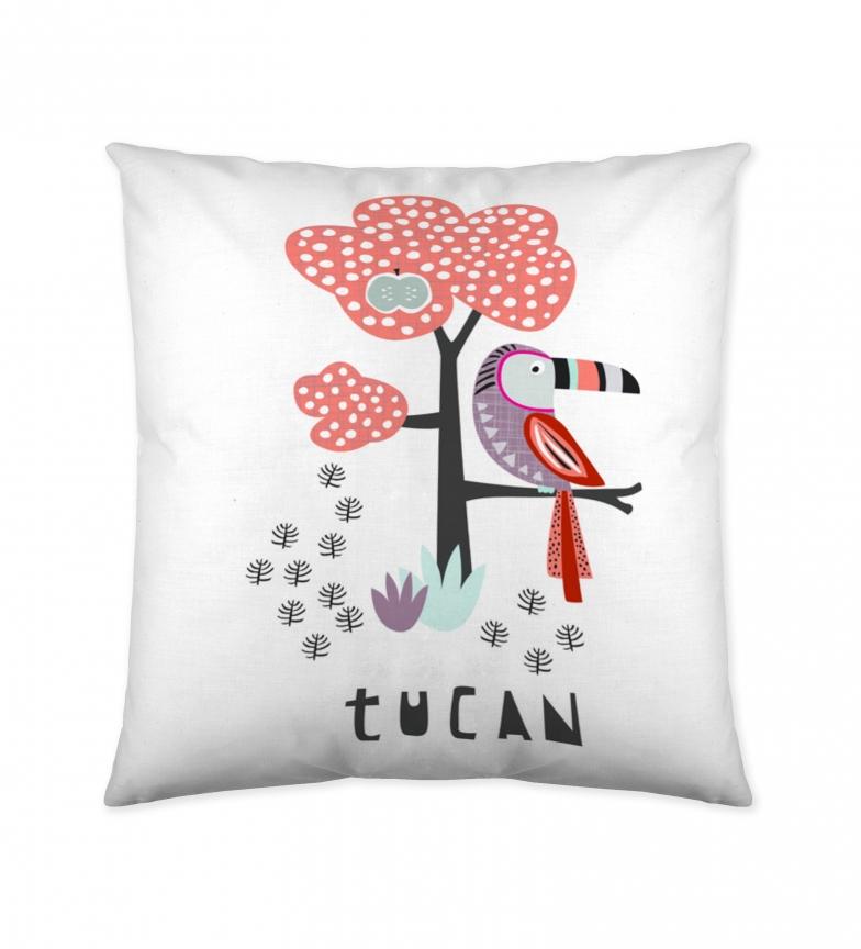 Comprar COOL KIDS Tukan cushion cover white -50x50cm