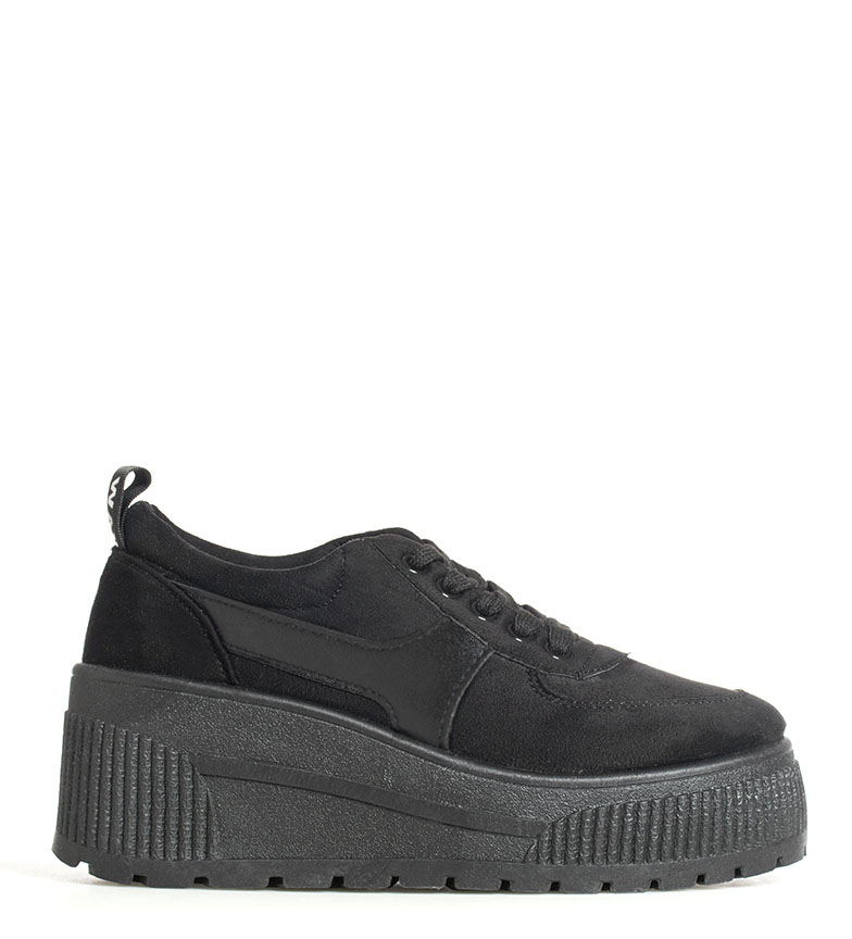 Comprar Coolway Bali shoes black - Wedge height: 8cm-