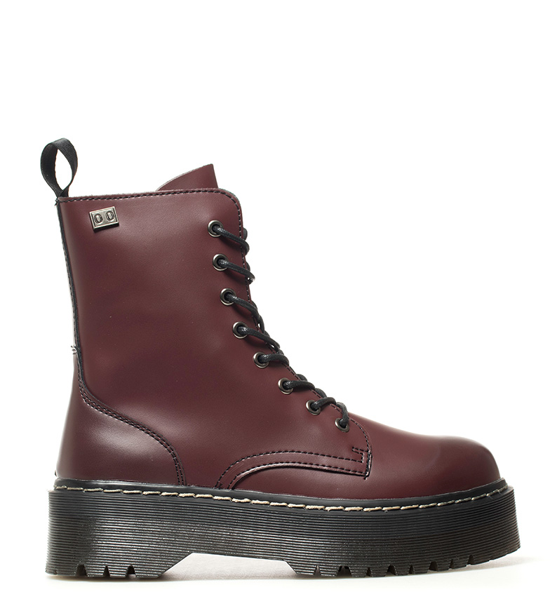Comprar Coolway Burgundy Abby boots - Platform height: 4.5cm-