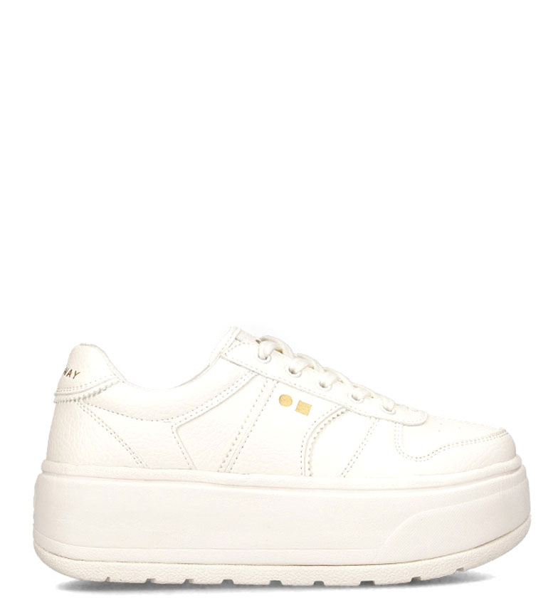 Comprar Coolway Rush shoes white - Platform height: 5 cm