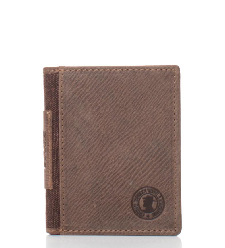 Comprar Coronel Tapiocca Portefeuille en cuir  brun Arenas -11x8,5 cm-