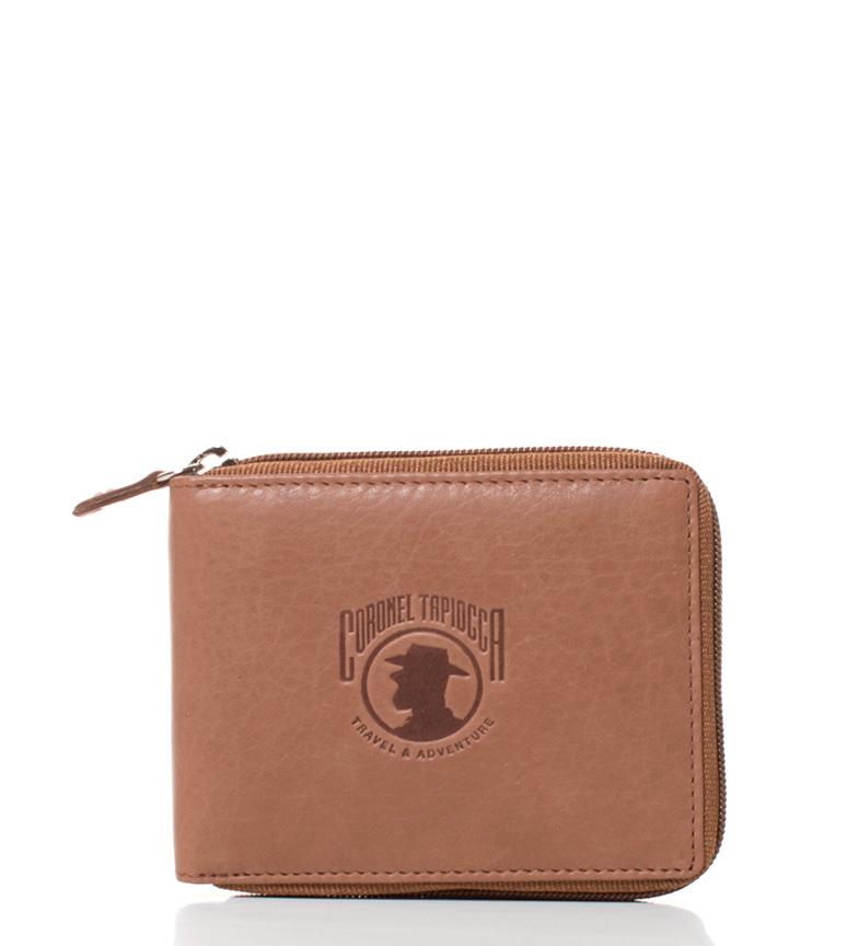 Comprar Coronel Tapiocca Billetero de piel Montcalm cuero -10x8,5 cm-