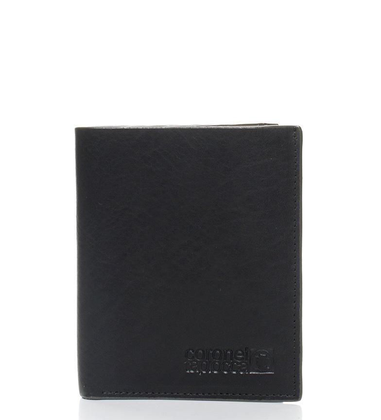 Comprar Coronel Tapiocca Billetero de piel Tapou negro-11x8,5 cm-